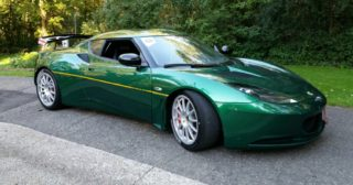 2012-2014 Lotus Evora GTS Track Car 1 of 3 in the World