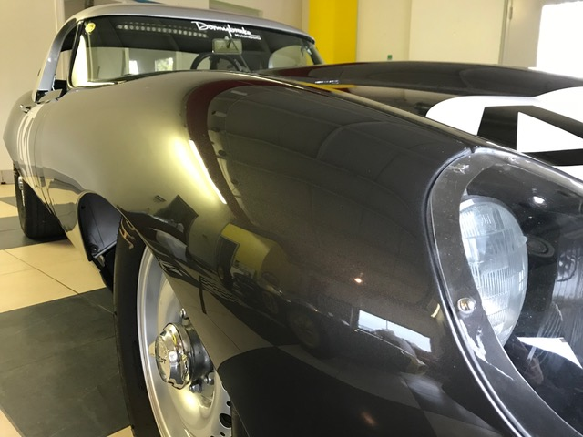 1961 XKE Jaguar race car